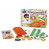 Electronics Laboratory Childrens Science Kit Orange - BUKI