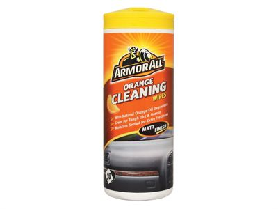 ArmorAll Orange Cleaning Wipes Tub of 30