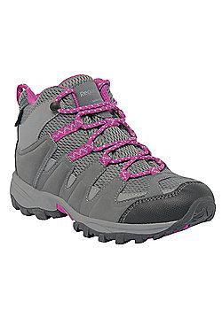 Regatta Kids Garsdale Mid Walking Boots - Grey