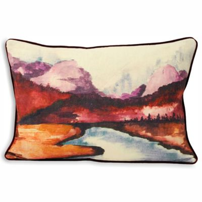 Riva Home Kielder Red Cushion Cover - 35x50cm