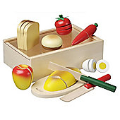 Wooden Cutting Meal 21 Pieces - Viga