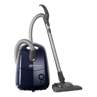 Sebo-E1K-EPOWER Airbelt E1 Komfort ePower Cylinder Vacuum Cleaner with 3.5L Capacity in Dark Blue