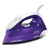 Morphy Richards Breeze Steam Iron - White & Purple