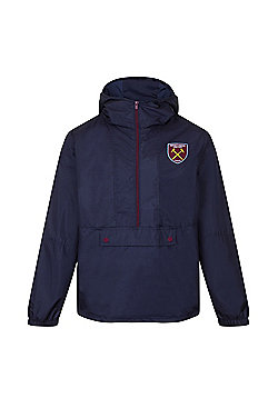 West Ham United FC Boys Shower Jacket - Navy & Multi