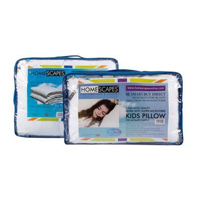 Homescapes Kids 4.5 Tog Super Microfibre Duvet & Pillow Set