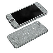 Tortoise™ Glitter Wrap for iPhone 5/5S/SE. Silver
