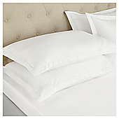 Fox & Ivy 400 Thread Count   FittedSheet - White
