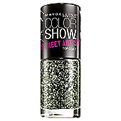 Maybelline Color Show Nail Lacquer / Polish 7ml - 01 Boom Box Black