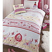 Once Upon A Time Princess Single Bedding and Free Fairy Cushion