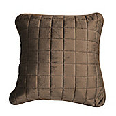 Hotel Collection Champagne Velvet Luxury Filled Cushion - 43x43cm