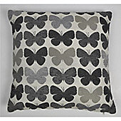 Mason Grey Graze Grey Cushion Cover - 43x43cm