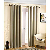Enhanced Living Wetherby Cream Eyelet Curtains - 46x90 Inches (117x229cm)