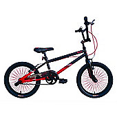 "Tiger UC X1 BMX Bike 18"" Black Red"