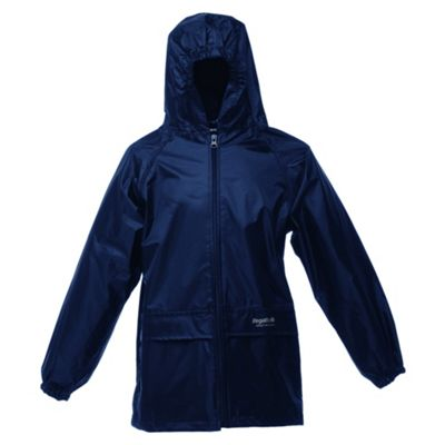 Regatta Kids Stormbreak Jacket Navy- 5-6