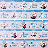 Frozen Personalised Christmas Gift Wrap and Tag Set (2x Sheets, 2x Tags)