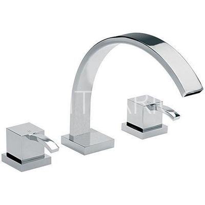 Sagittarius Arke Deck Mounted 3 Hole Bath Filler Tap