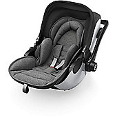 Kiddy Evo Luna i-Size 2 Car Seat & Base (Grey Melange/Icy Grey)