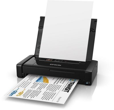 Epson Workforce WF-100W A4 Mobile Wireless Inkjet Printer WF100
