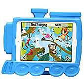 Kids Shock Proof Blue Timmy Train Case For The iPad Mini 3 / 2 / 1