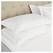 Fox & Ivy Egyptian Cotton 200 Thread Count   Deep Fitted Sheet - White