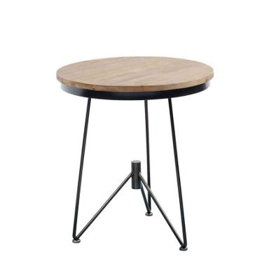 Gaspard Industrial Style Side Table