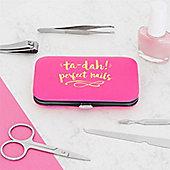 Pink & Gold Manicure Set