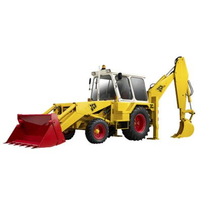 Britains Jcb 3C Mk3 Excavator Backhoe 1:32 Diecast Farm Vehicle 42905