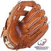 "Midwest Senior Slugger Fielders' Tan Vinyl Baseball Glove 12"""