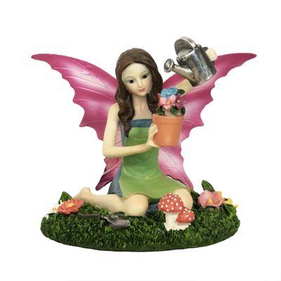 Aurora Knight Garden Time Fairy Figurine
