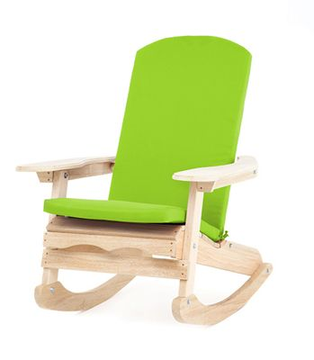 Gardenista Water Resistant Seat Pad for Adirondack Chair - Lime