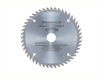 Panasonic EY9PW13B Carbide Tipped Saw Blade for Wood 135mm x 20mm x 48T