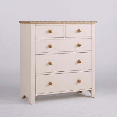 Stylish Camden 2 Over 3 Drawers Painted With Pine And Ash Furniture Home Decor