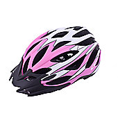 Ammaco MTB Road Bike Lightweight Helmet Pink Rubber 54-58cm