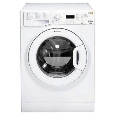 Hotpoint WMYF862P Washing Machine , 8Kg Load, 1600 RPM Spin, Polar