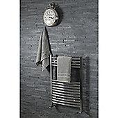 Silentnight 100% Cotton 525gsm 2 Piece Hand Towel Set - Grey