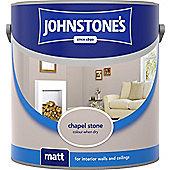 Johnstones No Ordinary Paint Water Based Interior Vinyl Matt Emulsion Tester Pot Chapel Stone 75ml