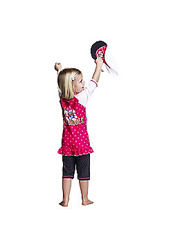 Disney Minnie Mouse & Daisy Duck UV Suit with Sun Hat 3 to 4 Years