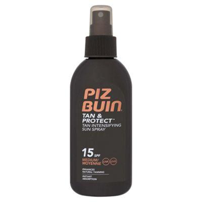 Piz Buin Tan & Protect Spray Spf15 150Ml
