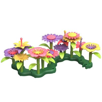Green Toys Build a Bouquet Flower Set - Creative Toy Set