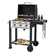 Toronto Gas 3 Burner BBQ Grill Compatible with 57cm Grid-in-Grid System