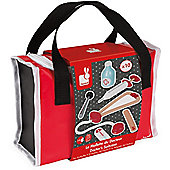 Janod Doctor's Suitcase Wooden Toy