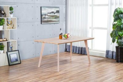 Beaumont Large Wood Effect Rectangle Dining Table