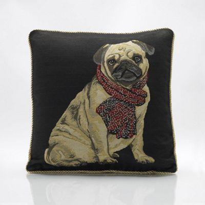 Alan Symonds Tapestry Pug Cushion Cover - 45x45cm