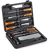 VonHaus 8pc Wood Carving Chisel Set