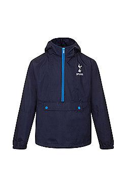Tottenham Hotspur FC Boys Shower Jacket - Navy & Multi