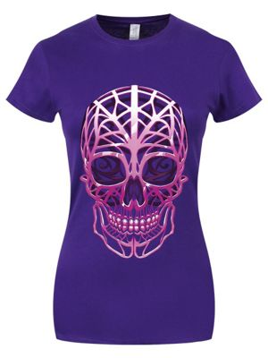 Unorthodox Alien Skull T-shirt