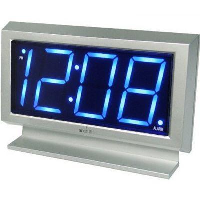 Acctim 14217 Labatt Alarm Clock Silver