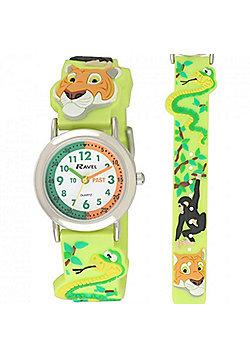 Kids Jungle Friends Time Teacher Watch