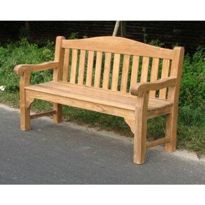 Teak Garden Bench - Oxford - 120cm