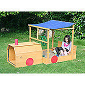 Choo Choo Train Wooden Sandpit